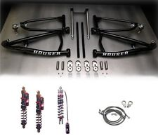 Houser Long Travel XC A-Arms Elka Stage 4 Front Rear Shocks Suspension YFZ450R