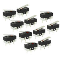 11Pcs 1NO 1NC SPDT Momentary Long Hinge Lever Micro Switches AC 125V 1A