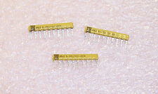 100 QTY 5.6K Ohm  10 PIN SIP RESISTOR NETWORKS BUSSED CSC10A01-562G DALE