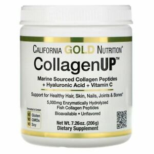 California Gold Nutrition, CollagenUP, Marine Hydrolyzed Collagen + Hyaluronic A