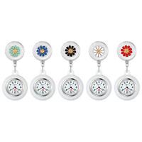 Retractable Clip on Nurse Watch for Lapel Hanging Nurse Doctor Fob Pocket Watch