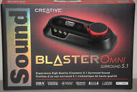 Creative Sound Blaster Omni Surround 5.1 USB SBX Sound Card PC MAC SB1560 Newww