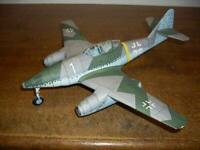 1:33 Scale Messerschmitt Me-262 A-1a Schwalbe DIY Handcraft PAPER MODEL KIT