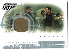 James Bond Die Another Day Casetopper Costume Relic Card AC1 (one colour)