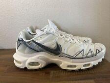"Nike Air Max Plus SE ""Shark"" TN White Platinum BV7826-100 Men's Size 11 NWOB"