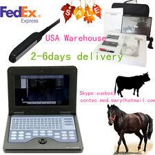 USA CMS600P2VET, Veterinary Bovine&equine Ultrasound Scanner &endorectal probe