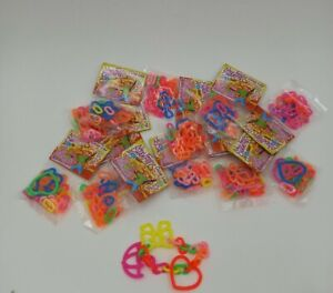 Vintage Unopened Bag Lot Toys Gumball Machine Fashion Charms Prizes  NOS