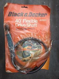 "Black & Decker 40"" flexible drive shaft"
