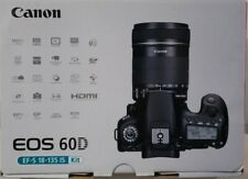 Canon EOS 60D Digital SLR Camera - Black (Kit with EF-S 18-135mm f5-5.6IS