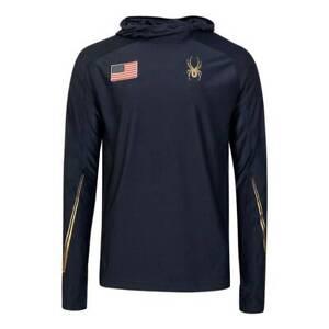 RARE Spyder National Leader Tech Hoody Official Uniform US Men's Ski Team, Small