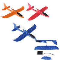 Main électrique poussant planeur jetant la mousse EVA jouet avion en plein air