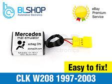 Per Mercedes CLK W208 Bypass SEAT Occupancy Mat Sensor Airbag Srs Emulatore
