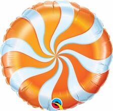 Ballons de fête orange anniversaires-enfants pour la maison