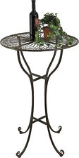 Bar Table from Metal 20832 Tisch H-105 cm D-65 cm Garden Table Bistro Table