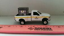 1/64 CUSTOM Ford f350 great Lakes hybrids TRUCK & probox pallet of seed ERTL toy