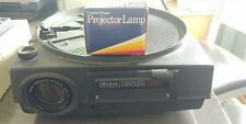 Kodak Carousel 650H Slide Projector w/2 Remotes + 1 Extra Lamp