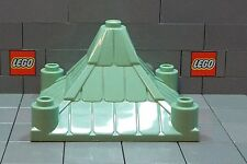 LEGO: Harry Potter; Castle: Roof Piece 6 x 6 Pyramid (#30614) Sand Green