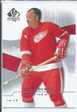 Gordie Howe  08/09 SP Authentic  #71  Mr. Hockey Base Card