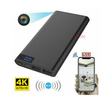 10000mAh Power HD 1080P Hidden Night Vision Camera Bank DVR Recorder WIFI