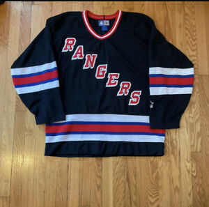 Rangers Black Alternate Starter Hockey Jersey