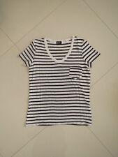BN  Dotti Summer Stripe Viscose Top   Size S