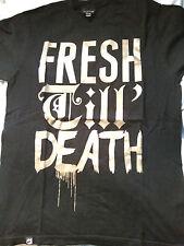In perfect conditions drop dead fresh till death t shirt medium mens