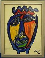 "Keil ""Der Matador aus Spanien"", Ölgemälde, signiert, 63, Nr. 40"