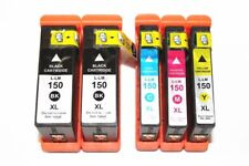 5PK 150XL Ink Cartridge  For Lexmark S315 S415 S515 Pro715 Pro915 H Quality