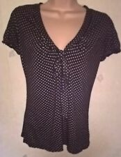 SALE: Nice Brown Spotted Top Size S