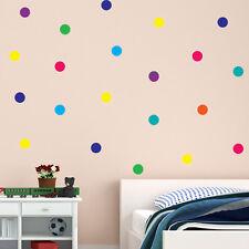 Polka Dot Wall Stickers Decal Childs Kid Vinyl Art home Decor spots Mural 45pcs