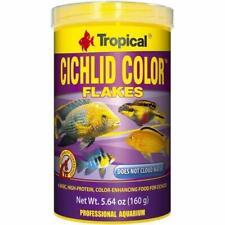 TROPICAL CICHLID COLOR  100ml 250ml Tropical flakes