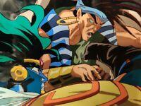 STAR PLATINUM FINALIE JoJo Bizarre Adventure Cel & Sketch Animation Art 1993