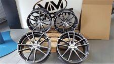 18 Zoll Motec Radical Concave Alu Felgen 5x108 grau poliert für Ford Focus ST RS