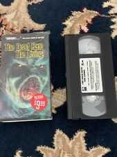 The Dead Hate the Living VHS Full Moon Horror Zombies