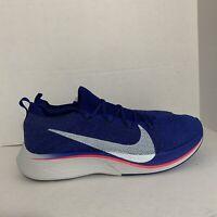 NIKE Vaporfly 4% Flyknit Running Shoes AJ3857-400 Mens 11.5 Women's 13 *No Lid*