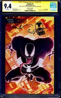 Venom #1 YOUNG GUNS VARIANT CGC SS signed DOUBLE VENOM SKETCH by Aaron Kuder