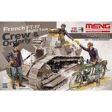 Meng Model 1/35 HS-005 French Light Tank Crew & Orderly
