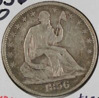 1856-O Liberty Seated Half Dollar Extra Fine #169135
