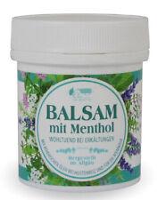 12x Balsam mit Menthol 125ml feuchtigkeitsspendend etherische Öle Erkältung 7349
