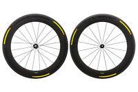 Mavic Cosmic 80 Road Bike Wheelset 700c Carbon Tubular Shimano 11 Speed