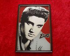 Elvis Presley Spiegelbild - Spiegel Bild - Motivspiegel (32,3 x 22 cm)