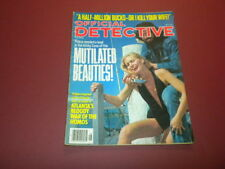 OFFICIAL DETECTIVE magazine 1978 May TRUE CRIME MURDER POLICE CASES