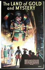 Land of Gold Montezuma Cortez 1936 Aztec pictorial