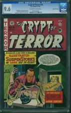 CRYPT OF TERROR #18 cgc 9.6 1950  Tales From The Crypt