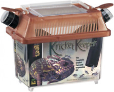 Pet Bug Cage Small Cricket Kricket Keeper Habitat Plastic Clear Dispenser Tube