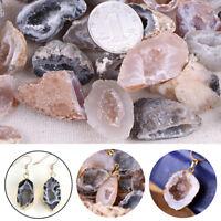 100% Natural Geodes Agate Crystals Raw Gemstone Druzy Halves Minerals Specimens