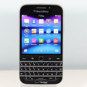 Blackberry Classic (Verizon) 4G LTE Smartphone - Current User's Only