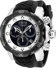 New Invicta Reserve Venom Black/White Venom Swiss Quartz Chronograph - 53mm
