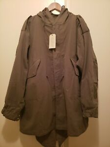John Ownbey M-1951 M-51 M51 Fishtail Parka, Medium, Brand new with tags & liner
