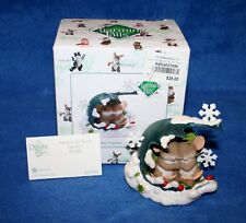 "Charming Tails Retro ""Weather The Storm Together"" Winter #4027656 W/Box Rare"